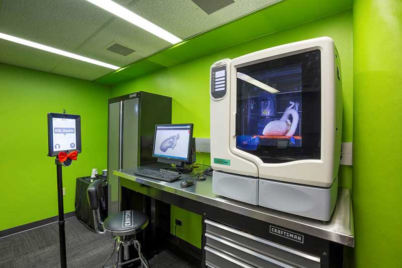 Digital Scholarship Lab 3D Printing Room